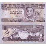 Banknote collection Ethiopia Pick number 46 - 1 Birr 1997