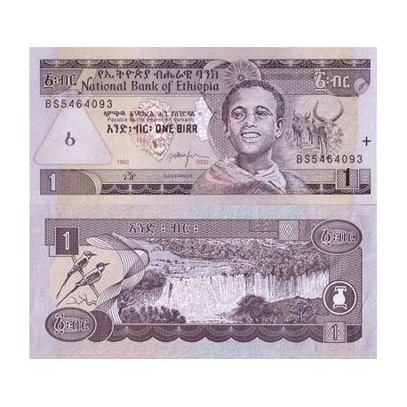 Billet de banque Ethiopie Pk N° 46 - 1 Birr