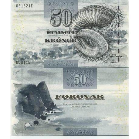 Feroe - Pk N° 24 - Billet de 50 kronur