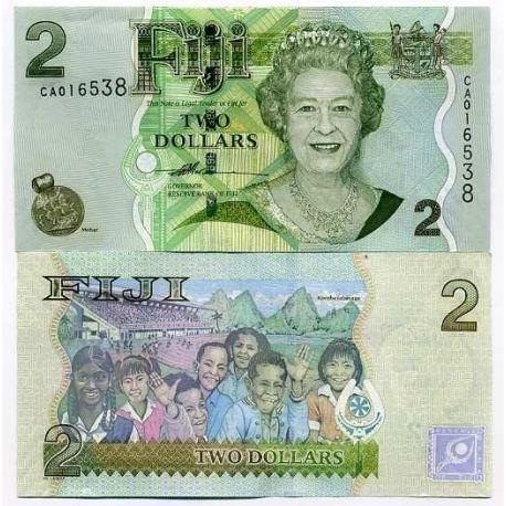 Fidji - Pk N° 109 - Billet de 2 Dollar