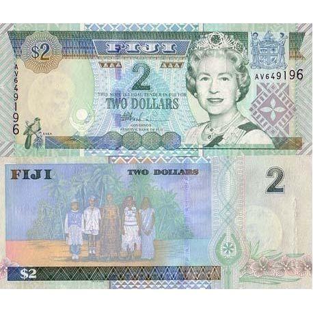 Fidji - Pk N° 96 - Billet de 2 Dollar