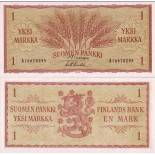 Beautiful banknote Finland Pick number 98 - 1 Markka 1963