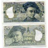 Banknoten Sammlung Frankreich Pick Nummer 152 - 50 FRANC 1976