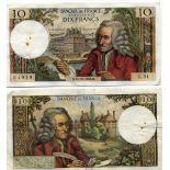 Billet de 10 Francs - Billet France Pk N° 147