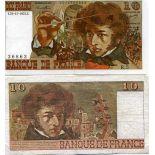 Bello banconote Francia Pick numero 150 - 10 FRANC 1968