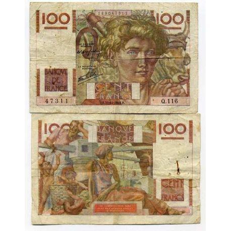 France - Pk N° 128 - Billet de 100 Francs