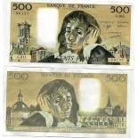 Billet de 500 francs - Billet de collection PK n° 156