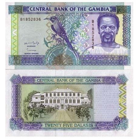 Billets de collection Billets collection Gambie Pk N° 18 - 25 Dalasis Billets de Gambie 13,00 €