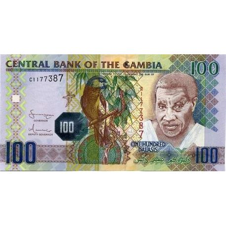 Billets collection Gambie Pk N° 999 - 100 Dalasis