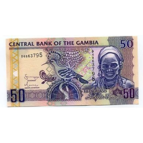 Gambie - Pk N° 99 - Billet de 50 Dalasis