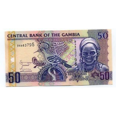 Gambia - Pk No. 99 - 50 Note Dalasis