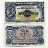 Collezione banconote Gran Bretagna Pick numero 23 - 5 Livre