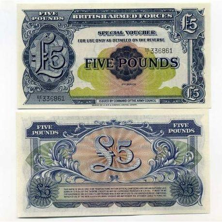 Gb Armee - Pk N° 23 - Billet de 5 Pounds