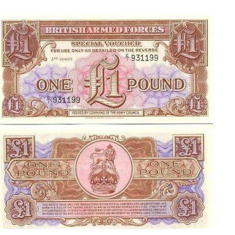 Billets banque Gb Armee Pk N° 29 - 1 Pound