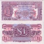 Colección Billetes Gran Bretaña Pick número 22 - 1 Livre