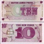 Billets banque Gb Armee Pk N° 48 - 10 New Pence