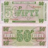 Los billetes de banco Gran Bretaña Pick número 49 - 50 Livre