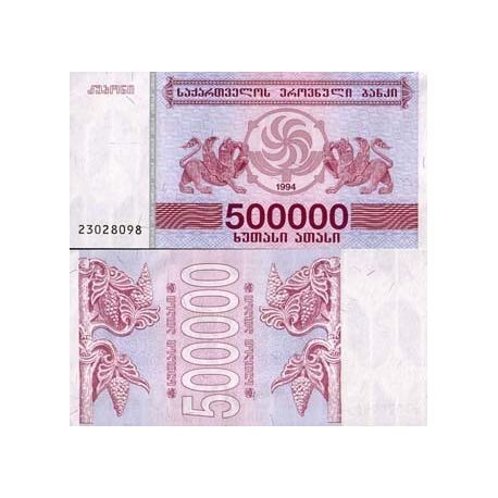 Billets de collection Billets de banque Georgie Pk N° 51 - 500000 Laris Billets de Georgie 3,00 €