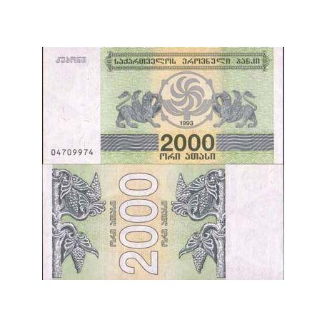 Georgie - Pk N° 44 - Billet de 2000 Laris