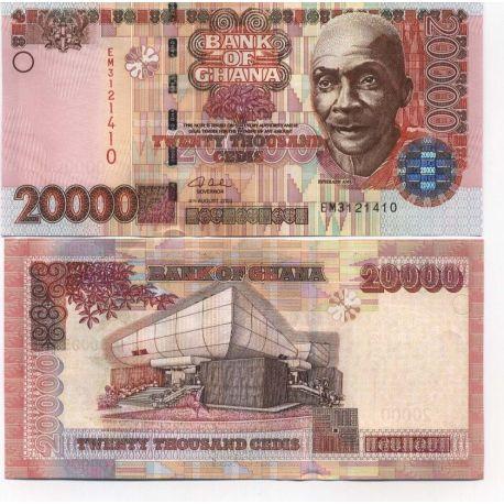 währung in ghana