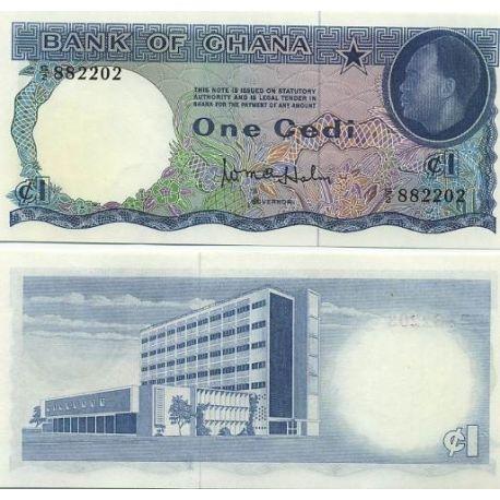 Billets de banque Ghana Pk N° 5 - 5 Cedis