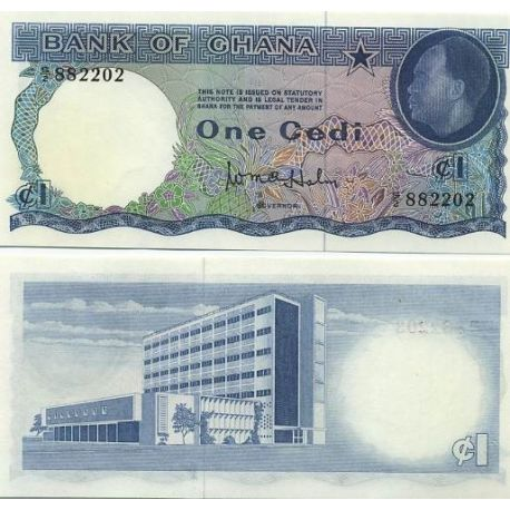 Ghana - Pk N° 5 - Billet de 5 Cedis