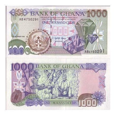 Ghana - Pk No. 32 - 1000 Cedis ticket