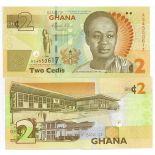 Billet de banque Ghana Pk N° 37A - 2 Cedis