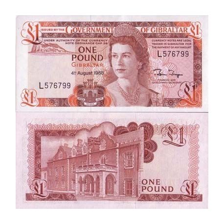 Billets banque Gibraltar Pk N° 20 - 1 Pound