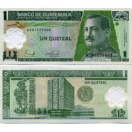 Billets de banque Guatemala Pk N° 999 - 1 Quetzal