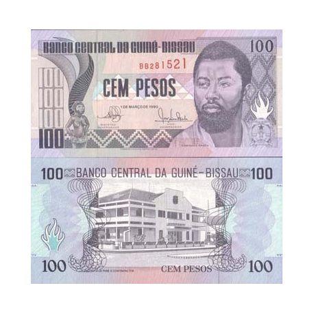 Guinee Bissau - Pk N° 11 - Billet de 100 Pesos