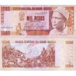 Banknote collection Guinea Bissau Pick number 13 - 1000 Peso 1990