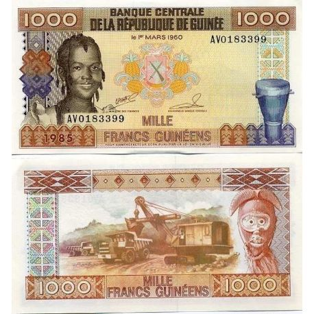 Guinea Francaise - Pk Nr. 32-1000 Franken banknote