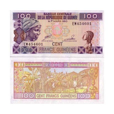 Guinea Francaise - Pk Nr. 35-100-Franken-banknote