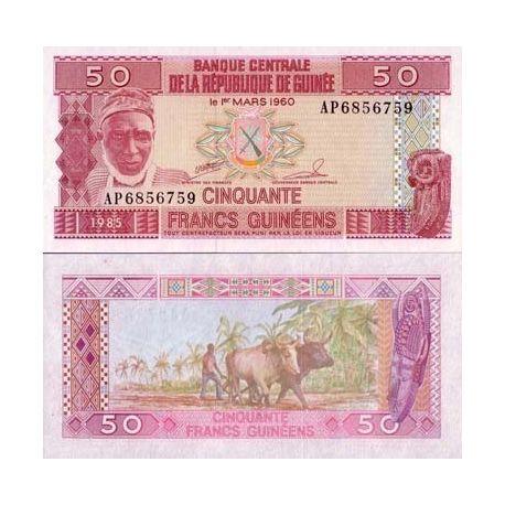 Guinea Francaise - Pk Nr. 29-50-Franken-banknote