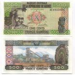 Billets banque Guinee Francaise Pk N° 31 - 500 Francs