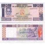 Billets banque Guinee Francaise Pk N° 28 - 25 Francs