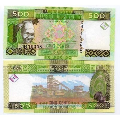 French Guiana - Pk: # 39 - Ticket 500 Francs