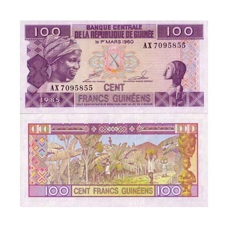 French Guiana - Pk No. 30 - 100 note Franks