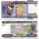 Billets collection Guinee Francaise Pk N° 38 - 5000 Francs