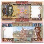 Billet de banque Guinee Francaise Pk N° 40 - 1000 Francs