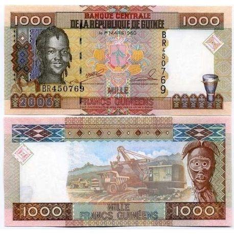 Billets de collection Billet de banque Guinee Francaise Pk N° 40 - 1000 Francs Billets de Guinée Française 4,00 €