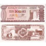 Billets collection Guyana Pk N° 23 - 10 Dollars