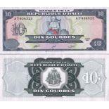Banknote Haiti Pick number 256 - 10 Gourde