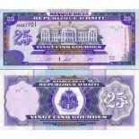 Banknoten Haiti Pick Nummer 266 - 25 Gourde
