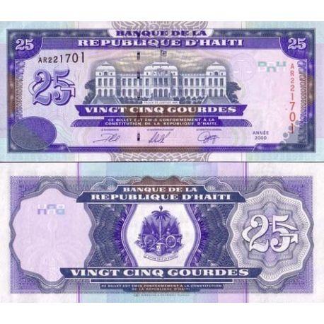Haiti - Pk # 266 - Ticket 25 Gourdes