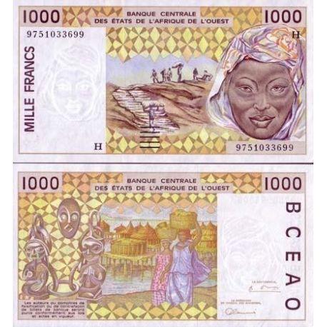 Billets de collection Billet de banque Afrique De L'ouest Niger Pk N° 611 - 1000 Francs Billets du Niger 8,00 €