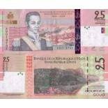 Schone Banknote Haiti Pick Nummer 273 - 25 Gourde