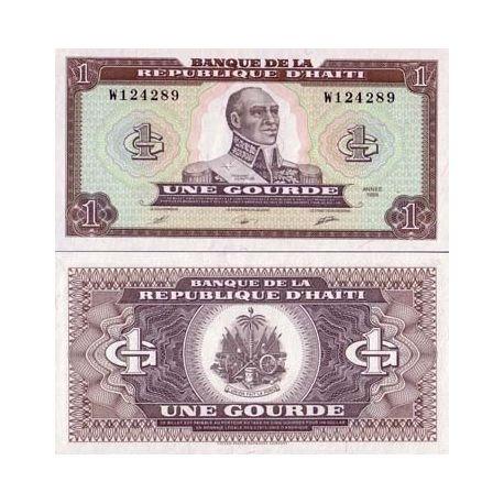 Billets de collection Billet de collection Haiti Pk N° 253 - 1 Gourde Billets d'Haiti 4,00 €