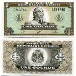 Billet de banque Haiti Pk N° 259 - 1 Gourdes